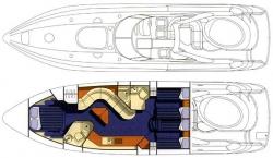 Sunseeker 58 ft Predator 1998 YX0100000134
