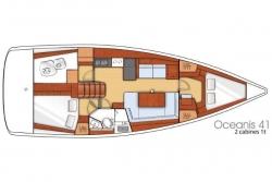 Beneteau 41 ft Oceanis 2013 YX0100000249