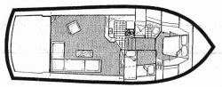 Egg Harbor 37 ft Convertible 1989 YX0100000223